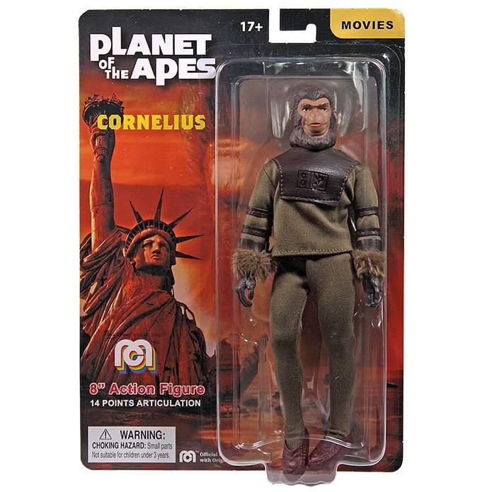 Planet Of The Apes Cornelius Mego 8-Inch Action Figure in box