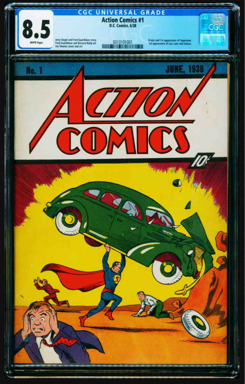 Sale Of Iconic Action Comics #1 Breaks New Record When It ...