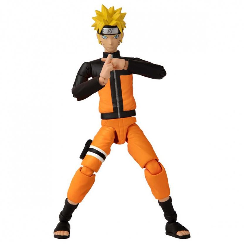 Shonin Jump Naruto Shippuden Anime Heroes Uzumaki Naruto Action Figure crossed arms