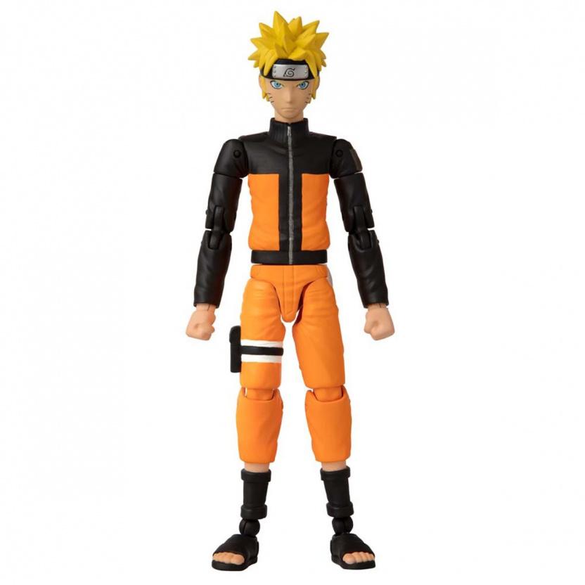 Shonin Jump Naruto Shippuden Anime Heroes Uzumaki Naruto Action Figure front