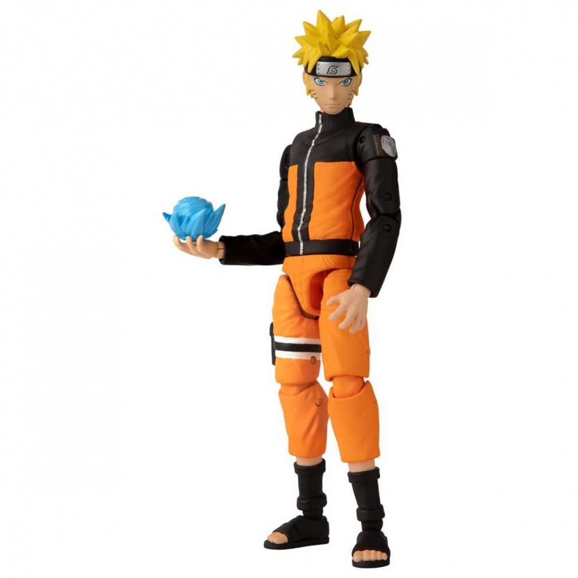 Shonin Jump Naruto Shippuden Anime Heroes Uzumaki Naruto Action Figure left side