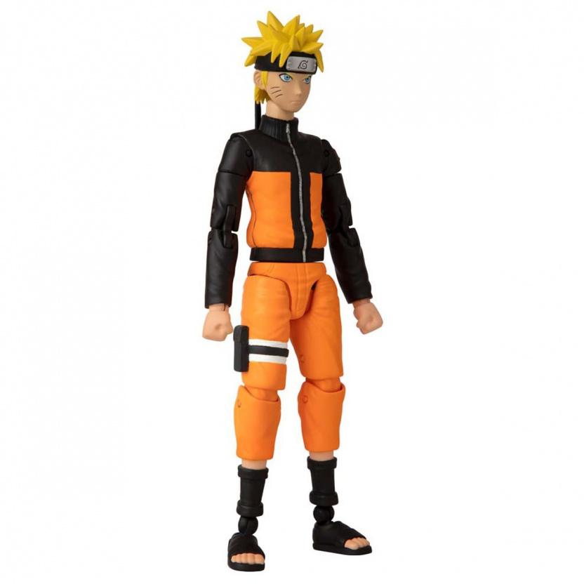 Shonin Jump Naruto Shippuden Anime Heroes Uzumaki Naruto Action Figure right side