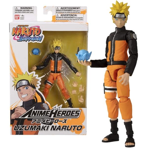 Shonin Jump Naruto Shippuden Anime Heroes Uzumaki Naruto Action Figure with box