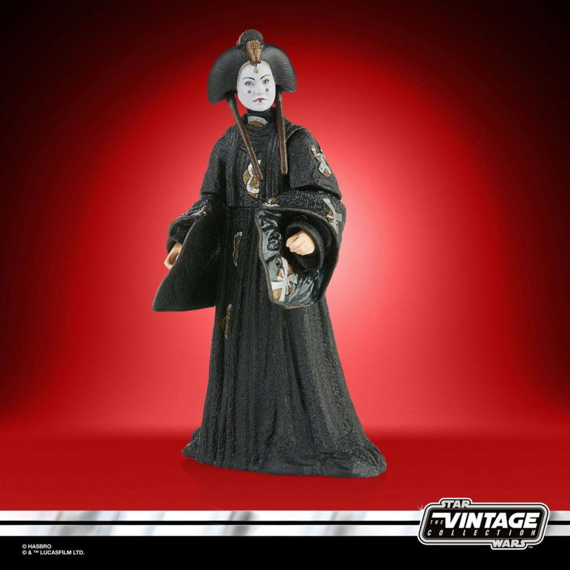 Star Wars The Vintage Collection 2020 Action Figures Wave 5 - Queen Amidala side