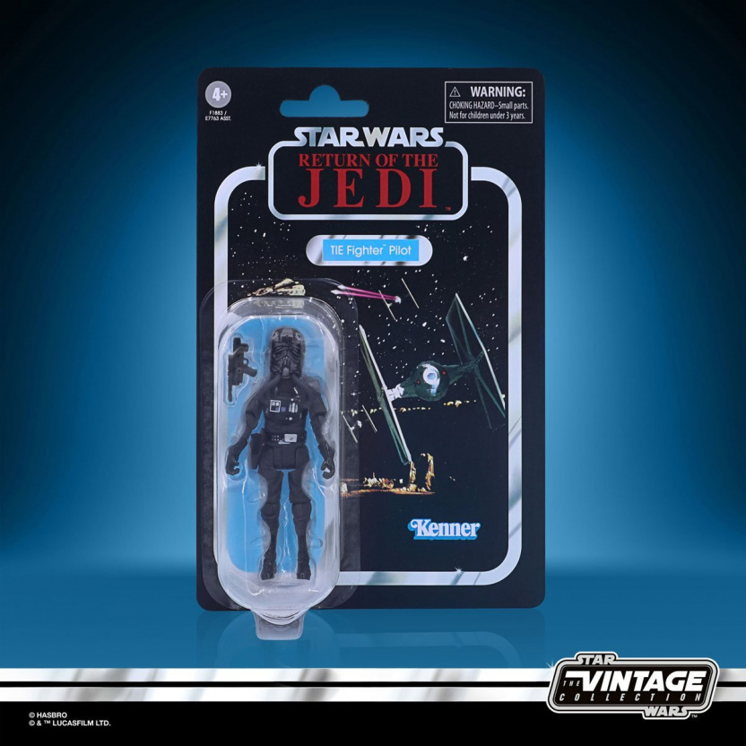 Star Wars The Vintage Collection 2020 Action Figures Wave 5 - TIE Fighter Pilot in box 2