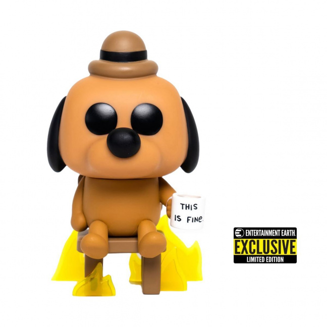 This is Fine Dog Funko Pop! Vinyl Figure #56 - Entertainment Earth Exclusive