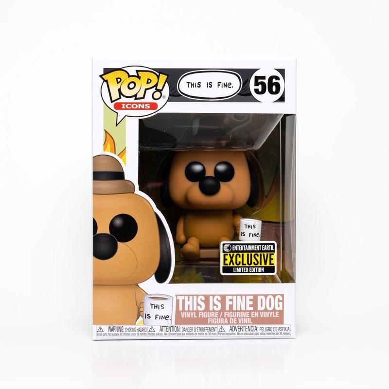 This is Fine Dog Funko Pop! Vinyl Figure #56 - in box