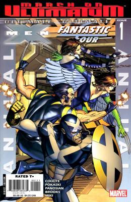 Ultimate X-Men/Fantastic Four #1 (November, 2008)