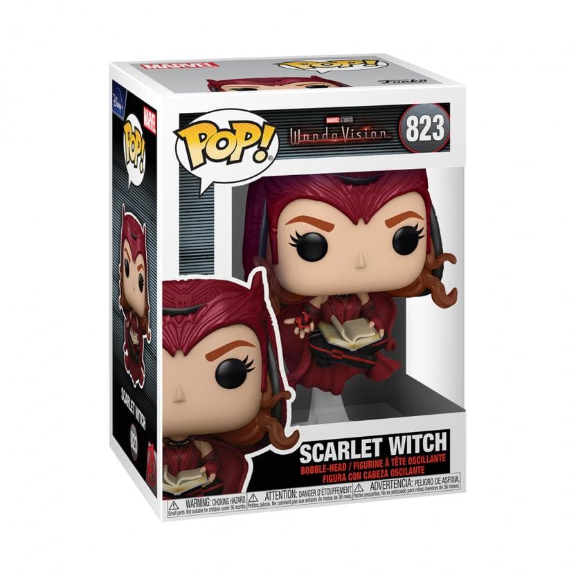 WandaVision Scarlet Witch Funko Pop Vinyl Figure #823 in box