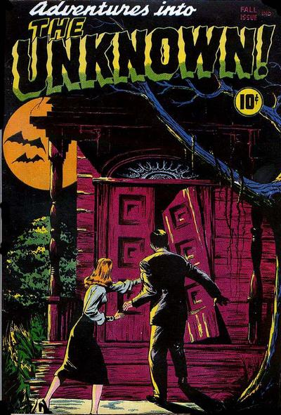 Adventures into the Unknown comic book - Fall 1948