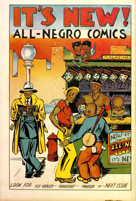 All-Negro Comics #1 - Inside Next Issue
