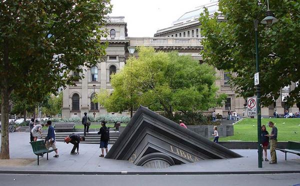 Architectural Fragment - by Petrus Spronk (Melbourne, Australia)