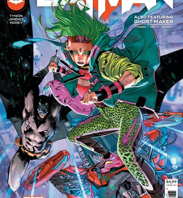 Batman #108 Cover A Jorge Jimenez
