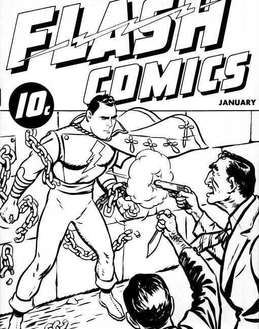 Flash Comics/Thrill Comics #1 (Captain Marvel/Shazam) - Cover 1