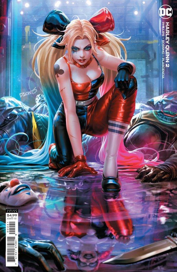 Harley Quinn #2 Cover B Derrick Chew Variant