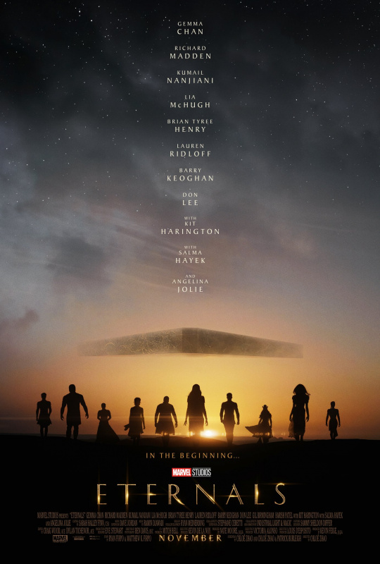 Marvel Eternals First Official Poster