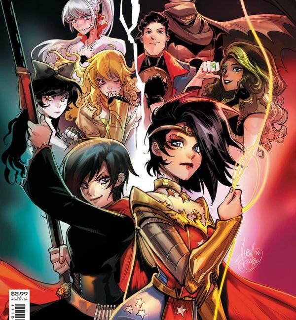 Rwby Justice League #1 Cover A Mirka Andolfo Variant