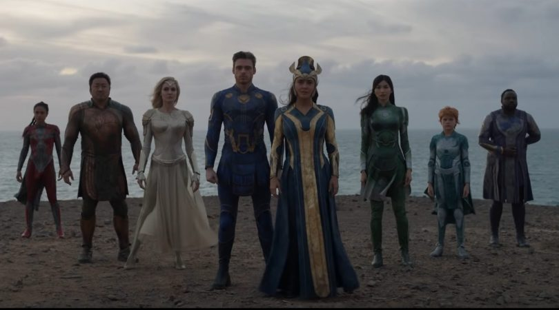 The cast of Marvel's Eternals