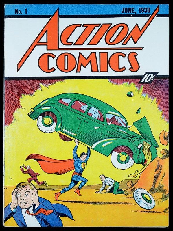Action Comics #1 - June 1938 (introduction of Superman)