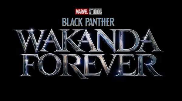 Black Panther Wakanda Forever movie logo