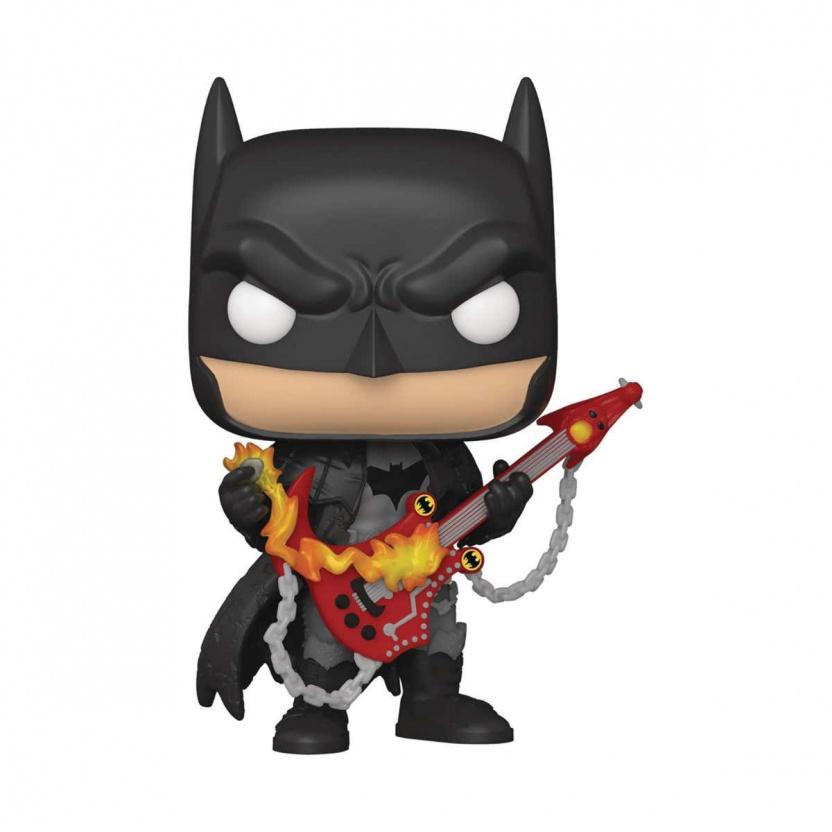 Dark Nights: Death Metal Batman with Guitar Funko Pop! Vinyl Figure 381 PX - Previews Exclusive 2