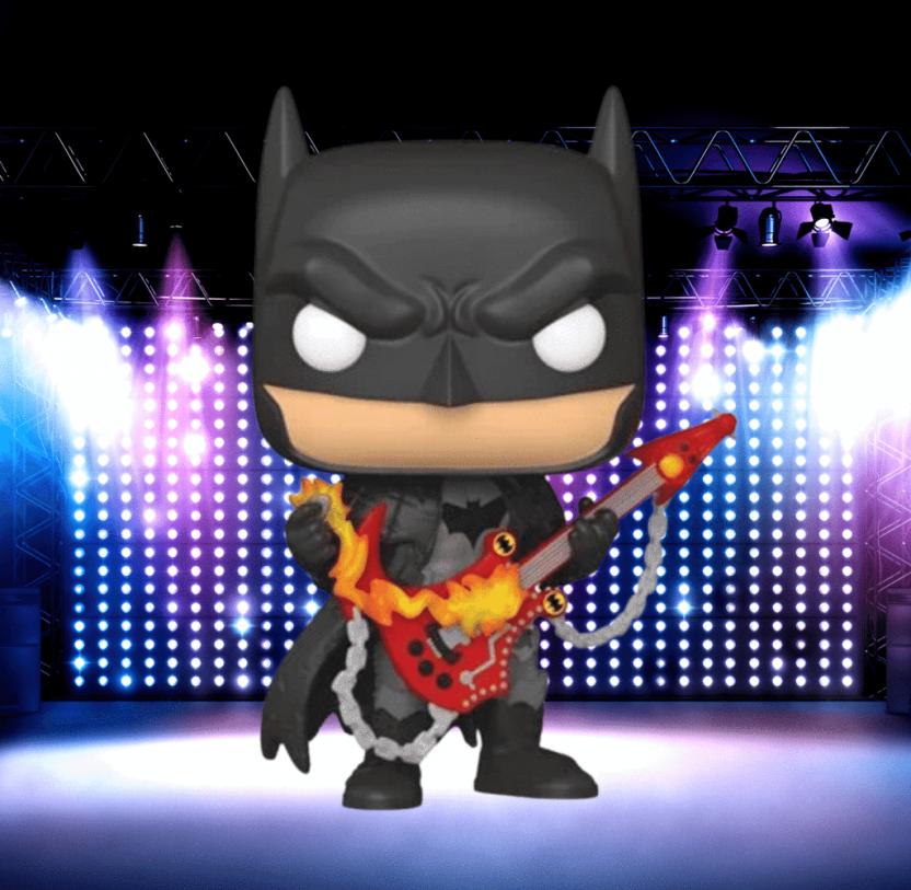 Dark Nights: Death Metal Batman with Guitar Funko Pop! Vinyl Figure 381 PX - Previews Exclusive
