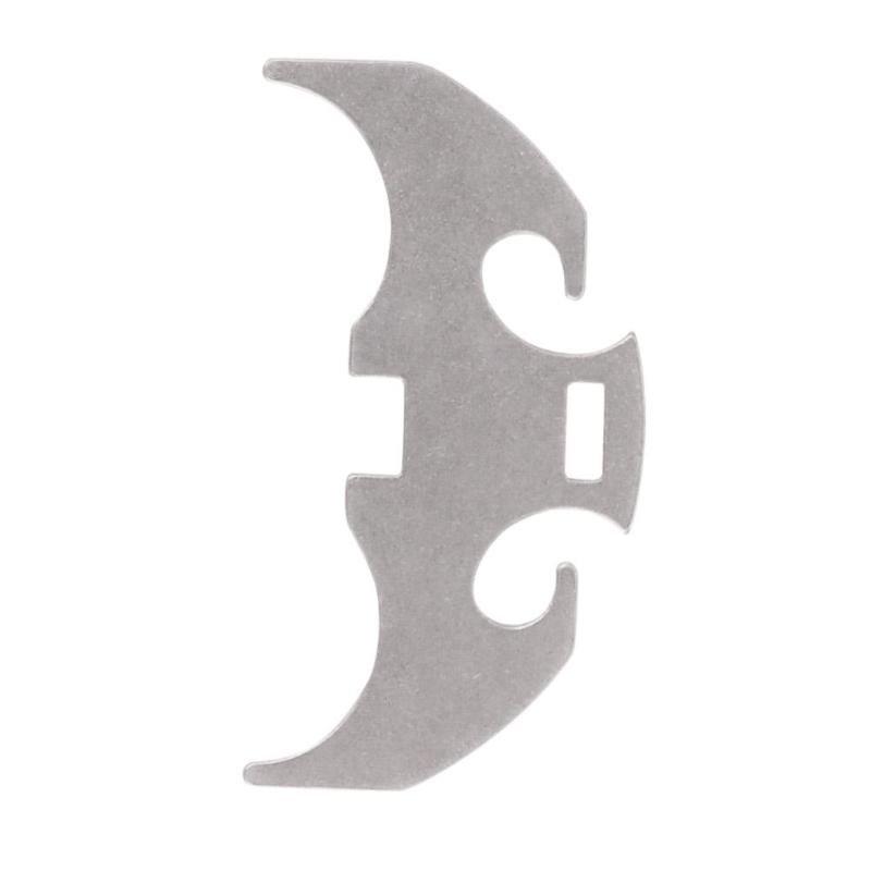 Folding Gravity Claw / Mini Grappling Hook bat tie