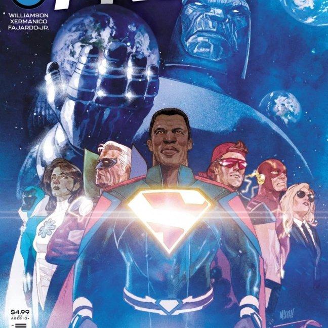 Infinite Frontier #1 Mitch Gerads original cover