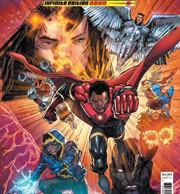 Milestone Returns Infinite Edition #0 collector's edition