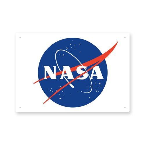 NASA Logo Tin Sign