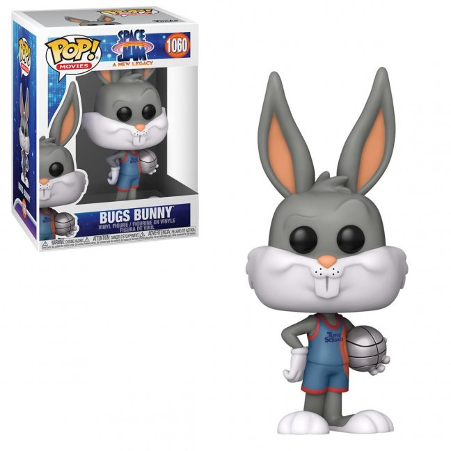 Space Jam: A New Legacy Bugs Bunny Funko Pop! Vinyl Figure #1060 with box