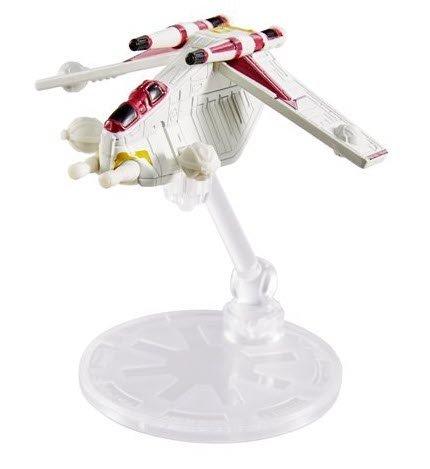 Star Wars Hot Wheels Starships 2021 - Republic Attach Gunship Hot Wheel