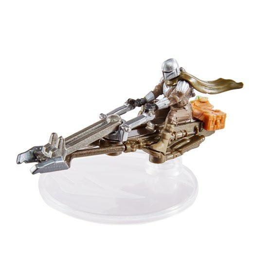 Star Wars Hot Wheels Starships 2021 - The Mandalorian Speeder Hot Wheels