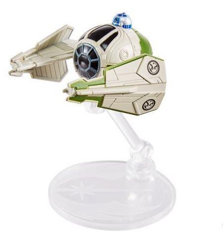 Star Wars Hot Wheels Starships 2021 - Yodas Jedi Starfighter Hot Wheels