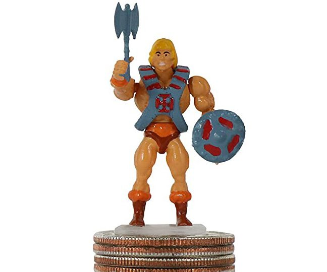 World's Smallest Masters of the Universe Mini-Figure He-Man