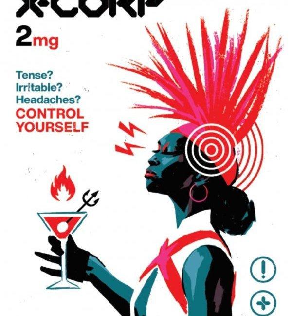 X-Corp #2 David Aja original cover