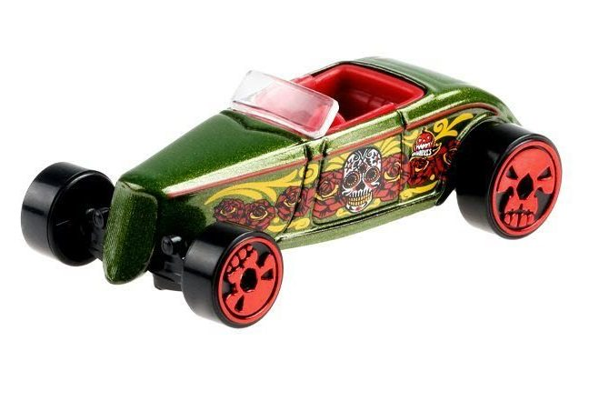 Hot Wheels Halloween Day of The Dead 2021 - '33 Ford Lo Boy