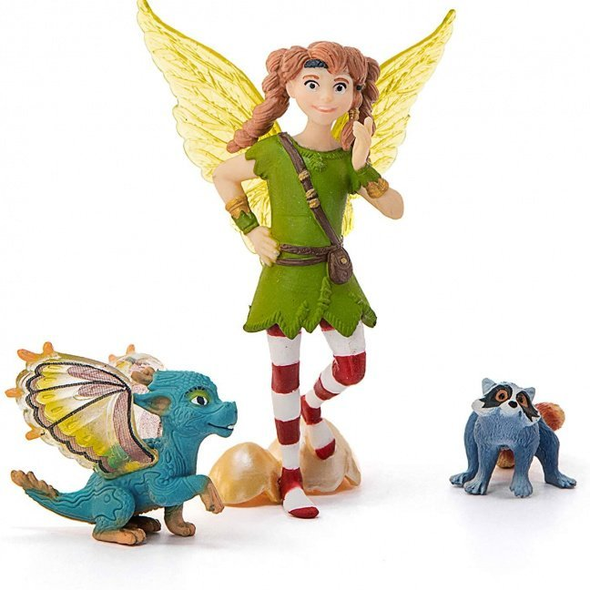 Bayala Marween with Nugur and Piuh Collectible Figure from Schleich