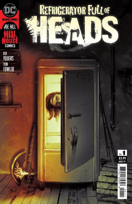 DC Comics Hill House Refrigerator Full of Heads