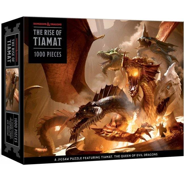 Dungeons and Dragons Puzzle: The Rise of Tiamat Dragon Puzzle: 1000-Piece Jigsaw Puzzle