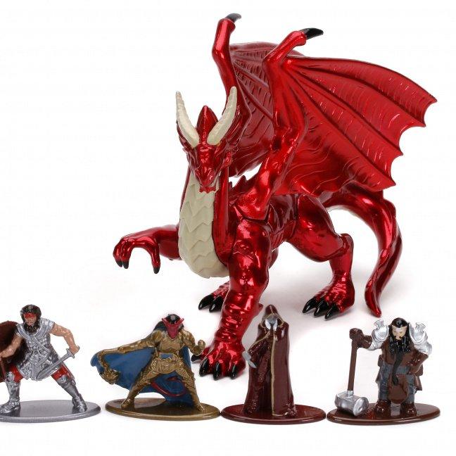 Dungeons & Dragons Nano MetalFigs Deluxe 5-Pack