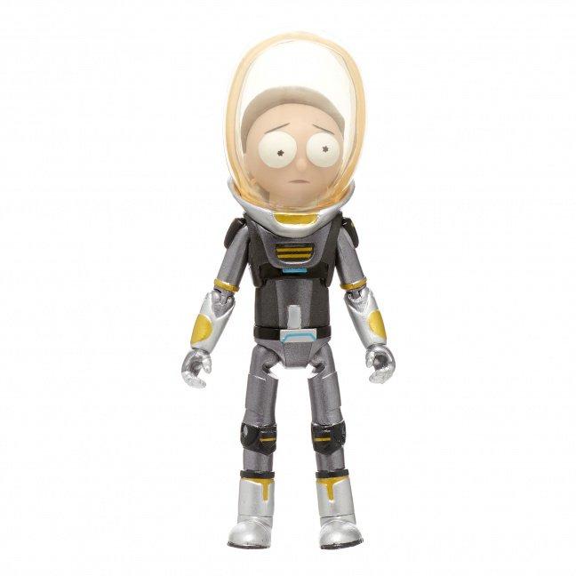 Funko Action Figure: Rick & Morty - Metallic Space Suit Morty - Exclusive
