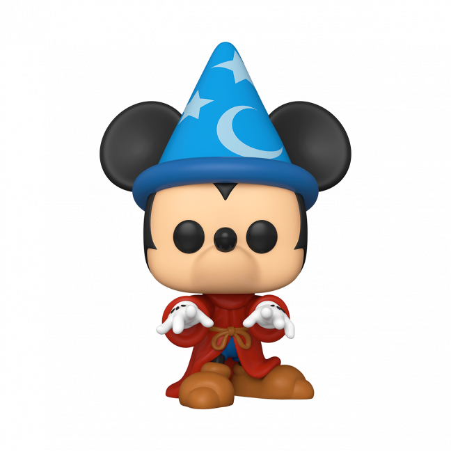 "Funko POP! Disney: Fantasia 80th - 10"" Funko Pop Sorcerer Mickey #993 - Exclusive"