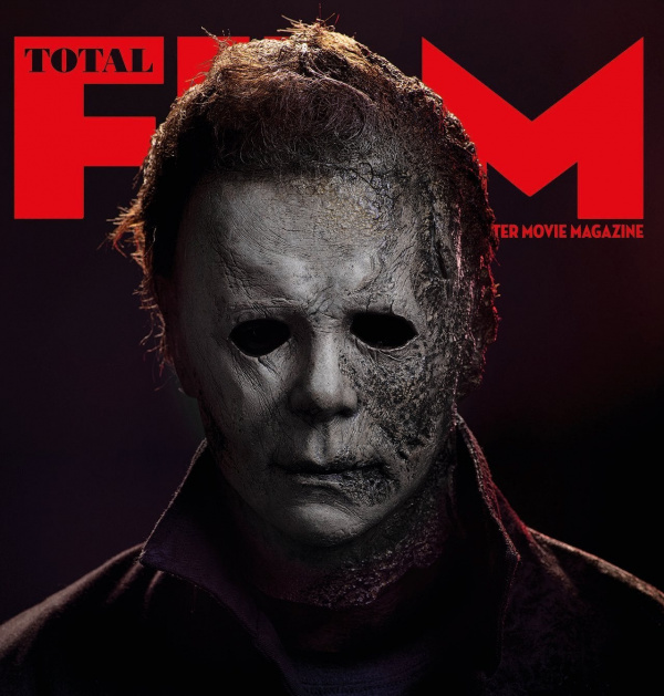 Halloween Kills Total Film cover showing Michael Myers mask