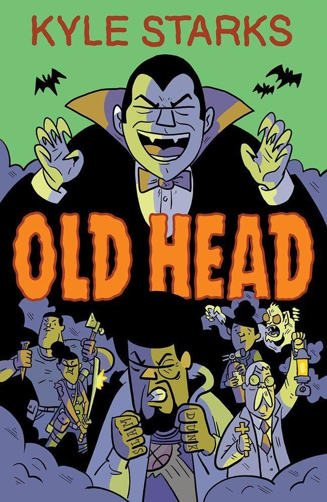 Kyle Starks Old Head comic book cover