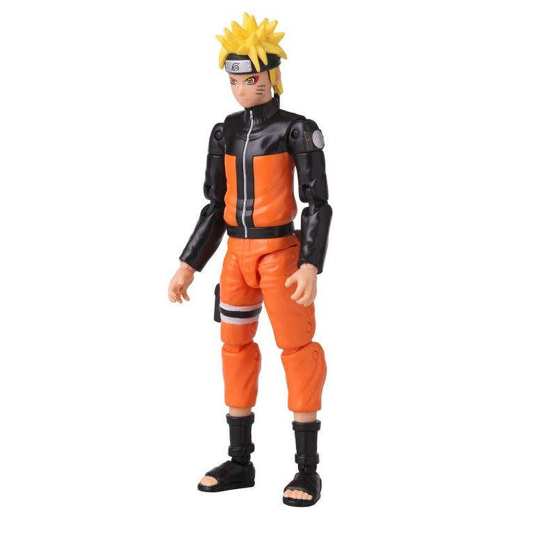 Naruto Anime Heroes Naruto Sage Mode 6-inch action figure left front side