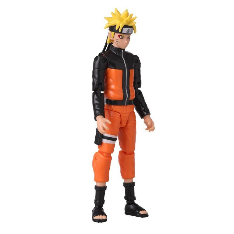 Naruto Anime Heroes Naruto Sage Mode 6-inch action figure right front side