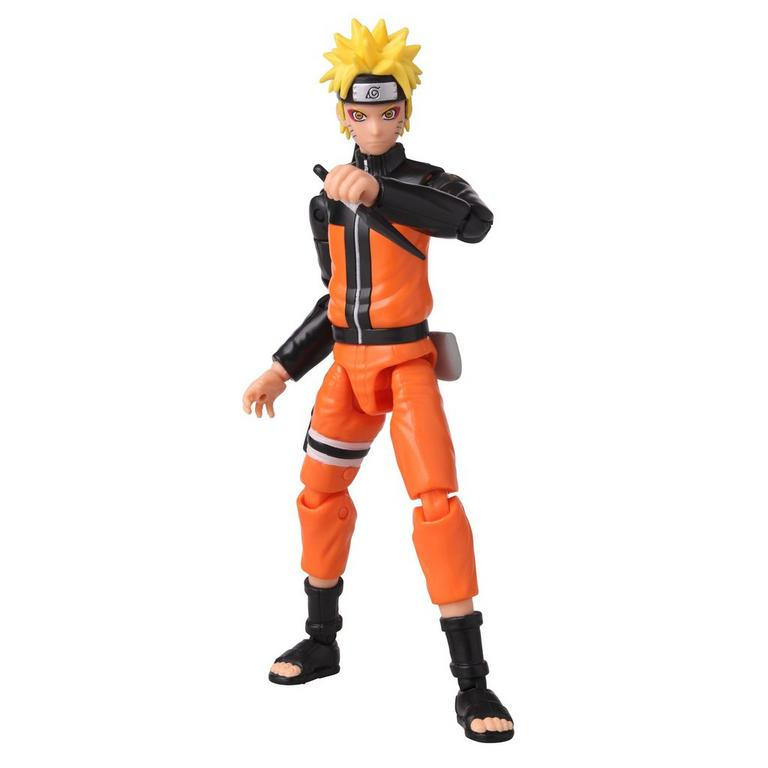 Naruto Anime Heroes Naruto Sage Mode 6-inch action figure with knife