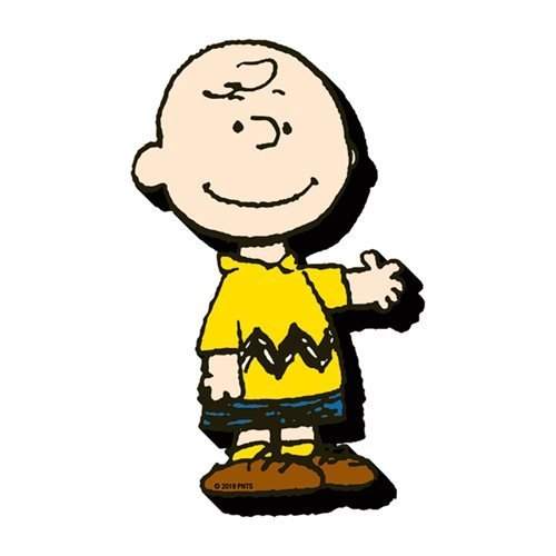 Peanuts Charlie Brown Funky Chunky Magnet