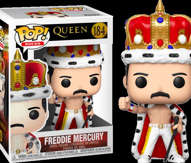 Queen Freddie Mercury Funko Pop! Vinyl Figure with box